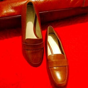 COLE HAAN LEATHER LOAFERS CAMEL 7